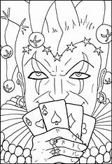 Coloring Pages Casino Poker Chips Printable Getdrawings Adult Aces Holding Getcolorings Lucky sketch template
