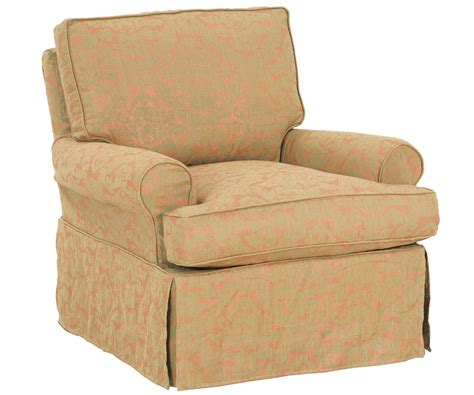 slipcovered chairs upholstered swivel glider rocker slipcovered accent chairs