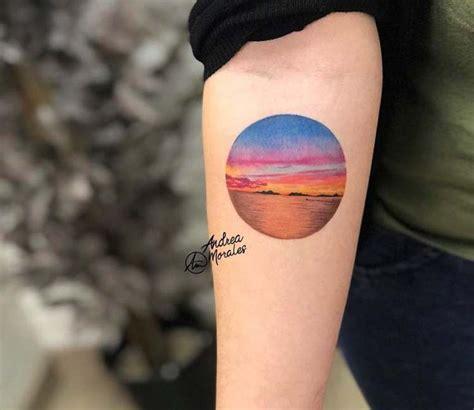 Best Sunset Tattoos Images Pinterest