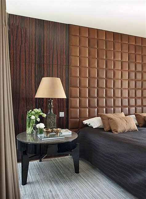 upholstered wall ideas   home bedroom furniture