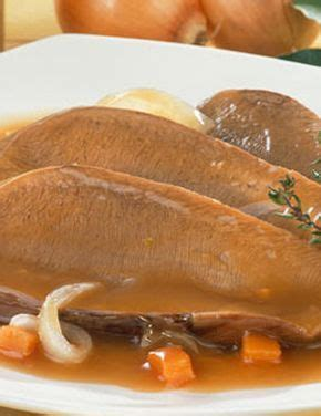 recette langue de boeuf sauce 232 re pour 4 personnes
