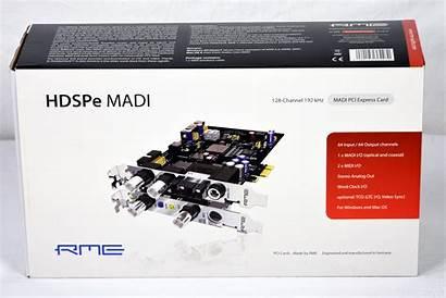 Pci Rme Madi Express Card Hdspe Gearwise