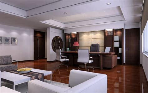 modern ceo office interior design white ceo office with wooden floors modern style 37197