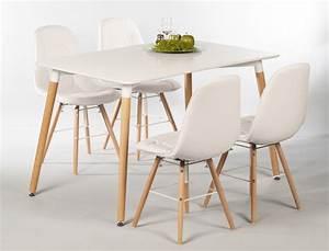 Esstisch Stühle Weiß : tischgruppe esstisch ilka wei 4 st hle tobias wei ~ Michelbontemps.com Haus und Dekorationen