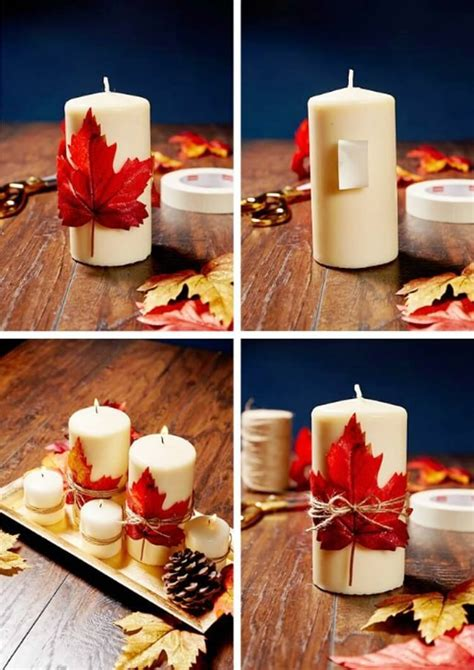 diy decorated candle ideas youll love craftsonfire