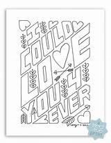 Coloring Forever Husband True Template Triedandtrueblog sketch template