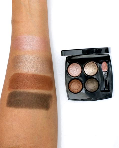 chanel les ombres multi effect eyeshadow quad   codes
