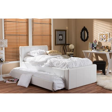 18362 white size trundle bed size bed bedroom furniture