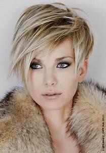 Coupe Femme Courte Blonde : coupe courte blonde 2015 ~ Carolinahurricanesstore.com Idées de Décoration