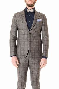 Tagliatore Prince Of Wales Suit For Men F  W 16  17