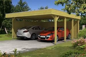 Carport Dach Holz : holz carport bausatz skanholz friesland aluminiumdach doppelcarpot mit zubeh r vom ~ Sanjose-hotels-ca.com Haus und Dekorationen