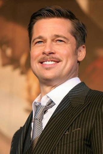 mens parted hair styles brad pitt inspire to formal side part hairstyle 6114
