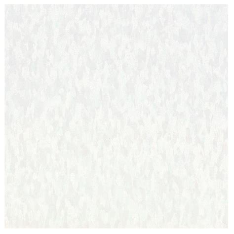 Armstrong Vct Tile Home Depot by Armstrong Imperial Texture Vct 12 In X 12 In White Out