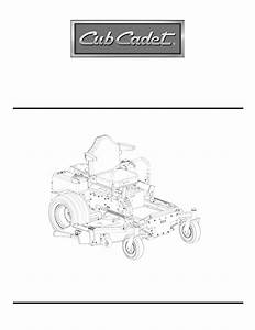 Cub Cadet 23hp Z-force 60 Service Manual