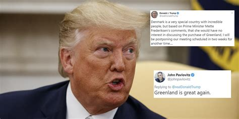 trump mocked  cancelling visit  denmark    wont sell  greenland indy