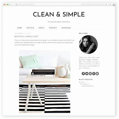 Blogger Simple Templates Template Responsive Clean Hello