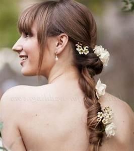 Coiffure Queue De Cheval : photo coiffure mariage queue de cheval torsad e ~ Melissatoandfro.com Idées de Décoration
