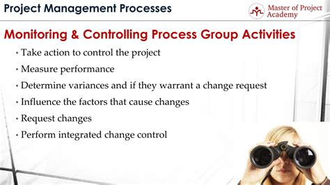 project monitoring controlling master  project academy