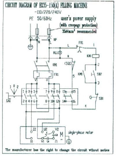 Commercial Food Mixer Wiring Diagram
