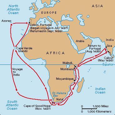 Route Vasco Da Gama by Profile
