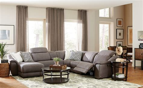 neutral great room   pc vegara pewter sectional
