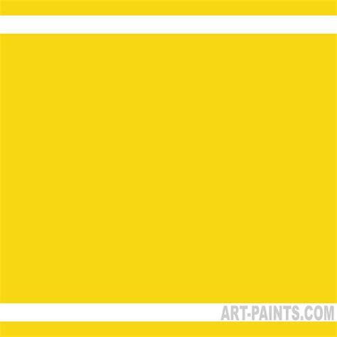 lemon yellow color acrylic paints x 8 lemon yellow
