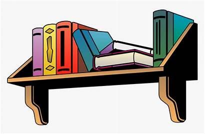 Clipart Clip Shelf Bookshelf Transparent Shelves Bed