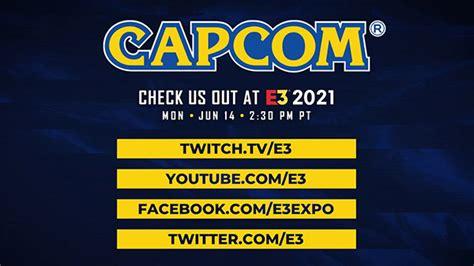 Capcom E3 2021 showcase set for June 14 - Gematsu