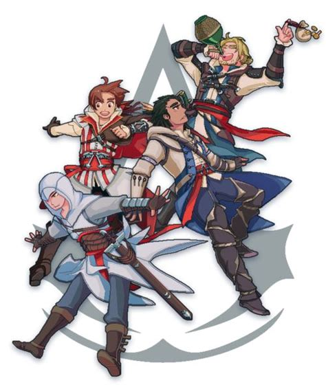 Assassins Creed And Hetalia Fan Art I Love Italy In This