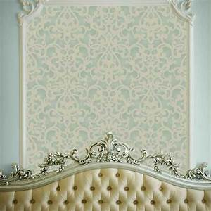 best 20 damask bedroom ideas on pinterest black vanity With what kind of paint to use on kitchen cabinets for papier peint manga