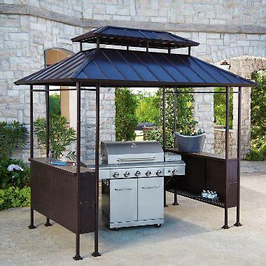 hardtop grill gazebo members fairbanks grill gazebo sam s club