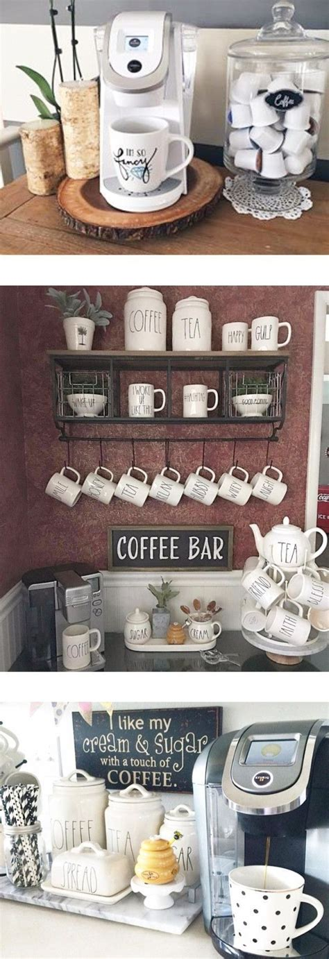 At nespresso we are here to support your changing needs whether you are working from home, need a smaller coffee. Building Corner Bar For Small Spaces   Coffee bar home, Coffee nook, Small space kitchen