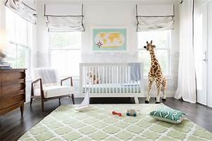 nursery with green quatrefoil rug transitional nursery With kitchen colors with white cabinets with melissa and doug reusable sticker pad