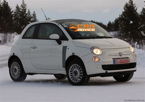 fiat   spy shots  winter testing