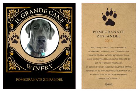 wine label template make your own wine labels with your photos grogtag