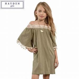 Aliexpress.com : Buy HAYDEN 11 Years Girls Clothes ...