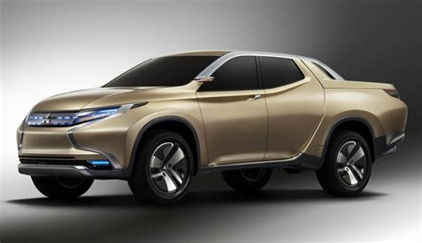 New Mitsubishi by Mitsubishi Gr Hev Concept In Ute Teases New Triton