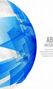 abstract blue 3d sphere background - Download Free Vector ...