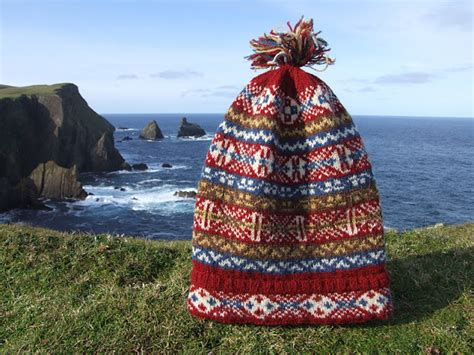 fair isle traditional knit fair isle fisherman s keps 6 hats for auction museum fund raiser