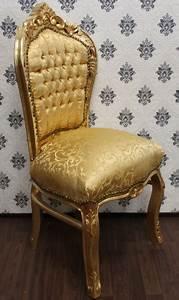 Gebrauchte Barock Möbel : gold goldenes design prunkvoll casa padrino luxus designer m bel barock barockstil ~ Cokemachineaccidents.com Haus und Dekorationen