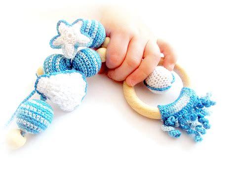 Nursing Necklace Blue Sea Ocean Breastfeeding Teething