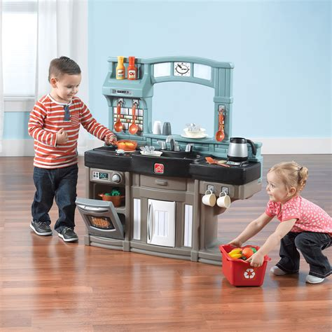 step  chefs play kitchen   piece accessory set