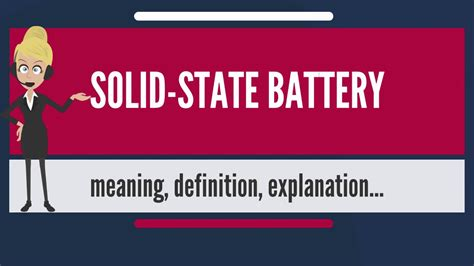solid state battery   solid state battery