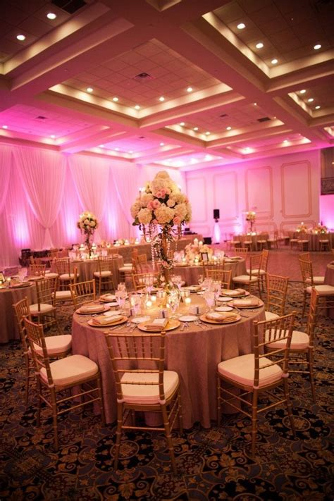 Wedding Reception Lighting by Uplighting Table Scapes And Decor Uplighting Wedding