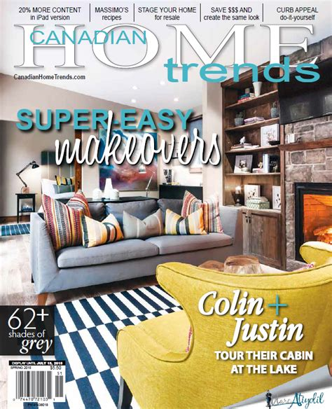 Free 3 Month Subscription To Canadian Home Trends Magazine