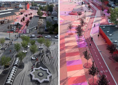 colour landscape architects life in color superkilen park a blaze of color