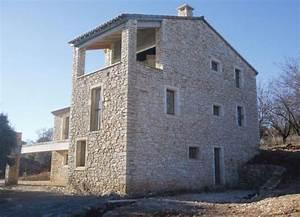 Construction En Pierre : pierre de taille gard construction maison b ton arm ~ Premium-room.com Idées de Décoration