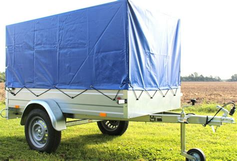 pkw anhänger plane 750 kg stema pkw anh 228 nger 750 kg spriegel plane hochplane blau