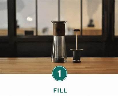 Coffee Flask Press Better Tea Mess Glass