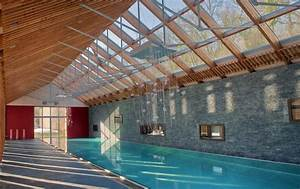 bourgueil rouleau architectes piscine privee With construction piscine couverte chauffee